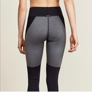 MICHI Shadow Leggings - Black Gray Medium